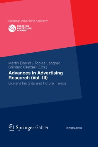 Advances in Advertising Research (Vol. III): Current Insights and Future Trends: 3 (European Advertising Academy)  by  Tobias Langner