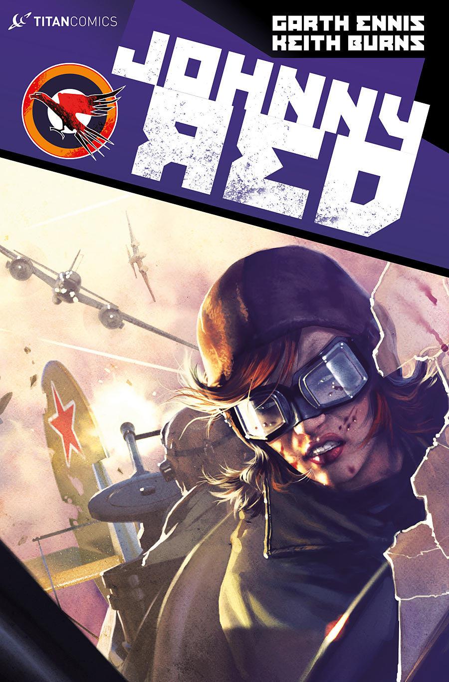 Johnny Red #3  by  Garth Ennis