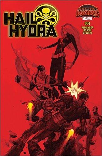 Hail Hydra (2015) #4  by  Rick Remender