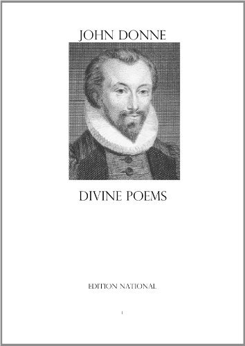 Divine Poems  by  John Donne