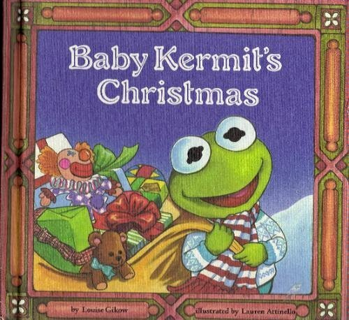 Baby Kermits Christmas  by  Louise Gikow