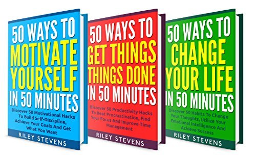 Self Discovery Box Set (3 in 1): Learn Simple Tips To Get The Life You Want and Find Happiness (Positive Thinking, Facing Fears, Goal Setting, Confidence Hacks and Become Unstoppable,)  by  Riley Stevens