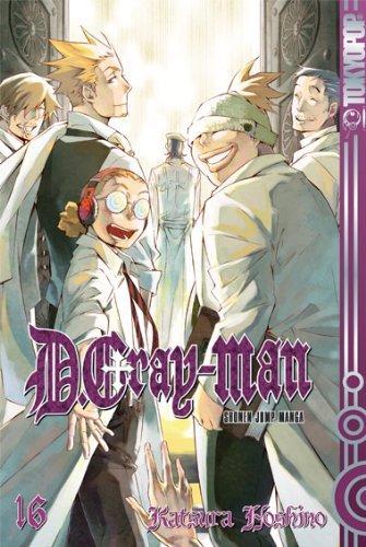 D.Gray-Man 16 Katsura Hoshino
