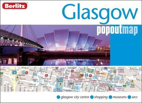 Glasgow Berlitz PopOut Map Berlitz