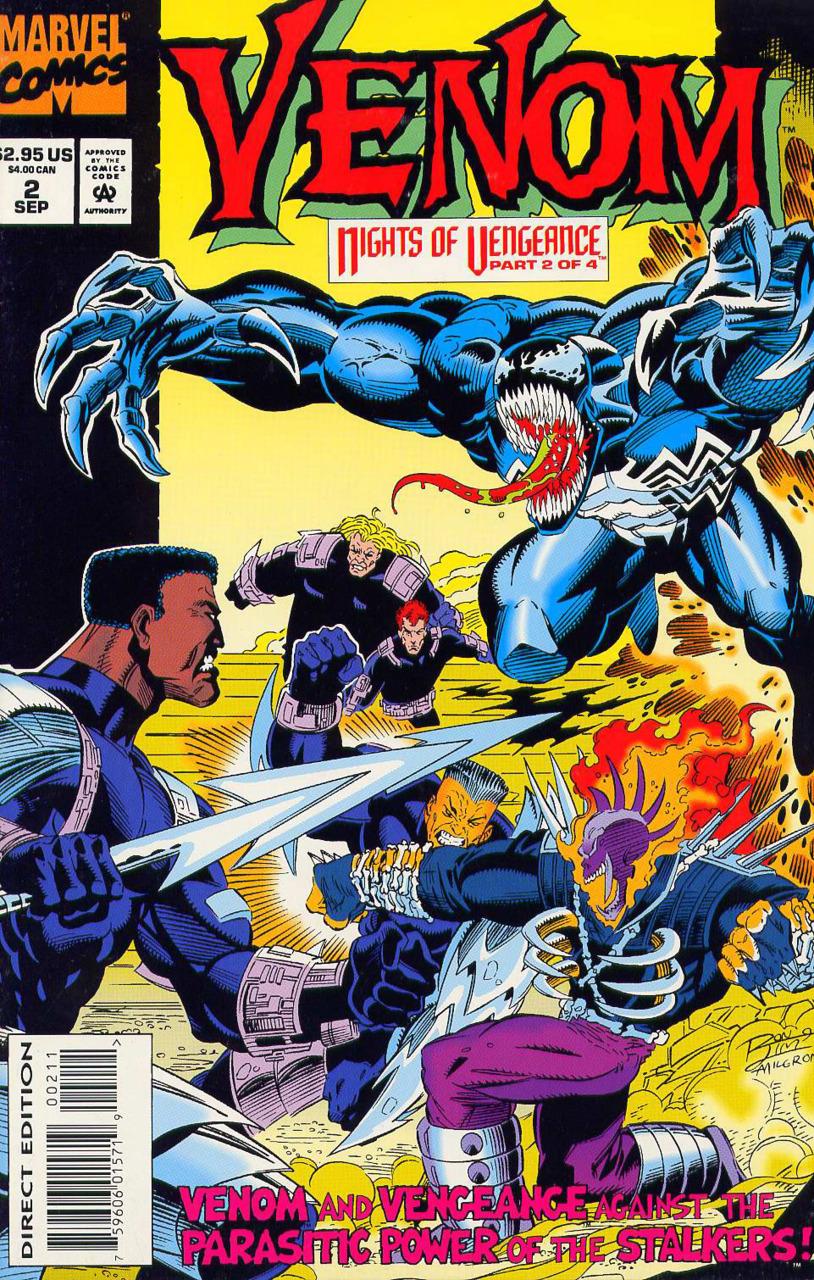 Venom: Nights of Vengeance #2  by  Howard Mackie