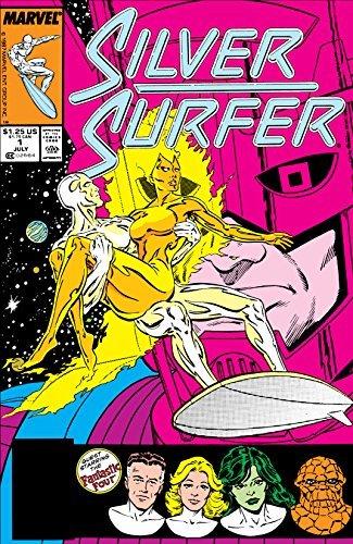 Silver Surfer (1987-1998) #1  by  Steve Englehart