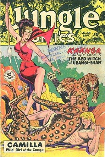 Jungle Comics #105 Fiction House