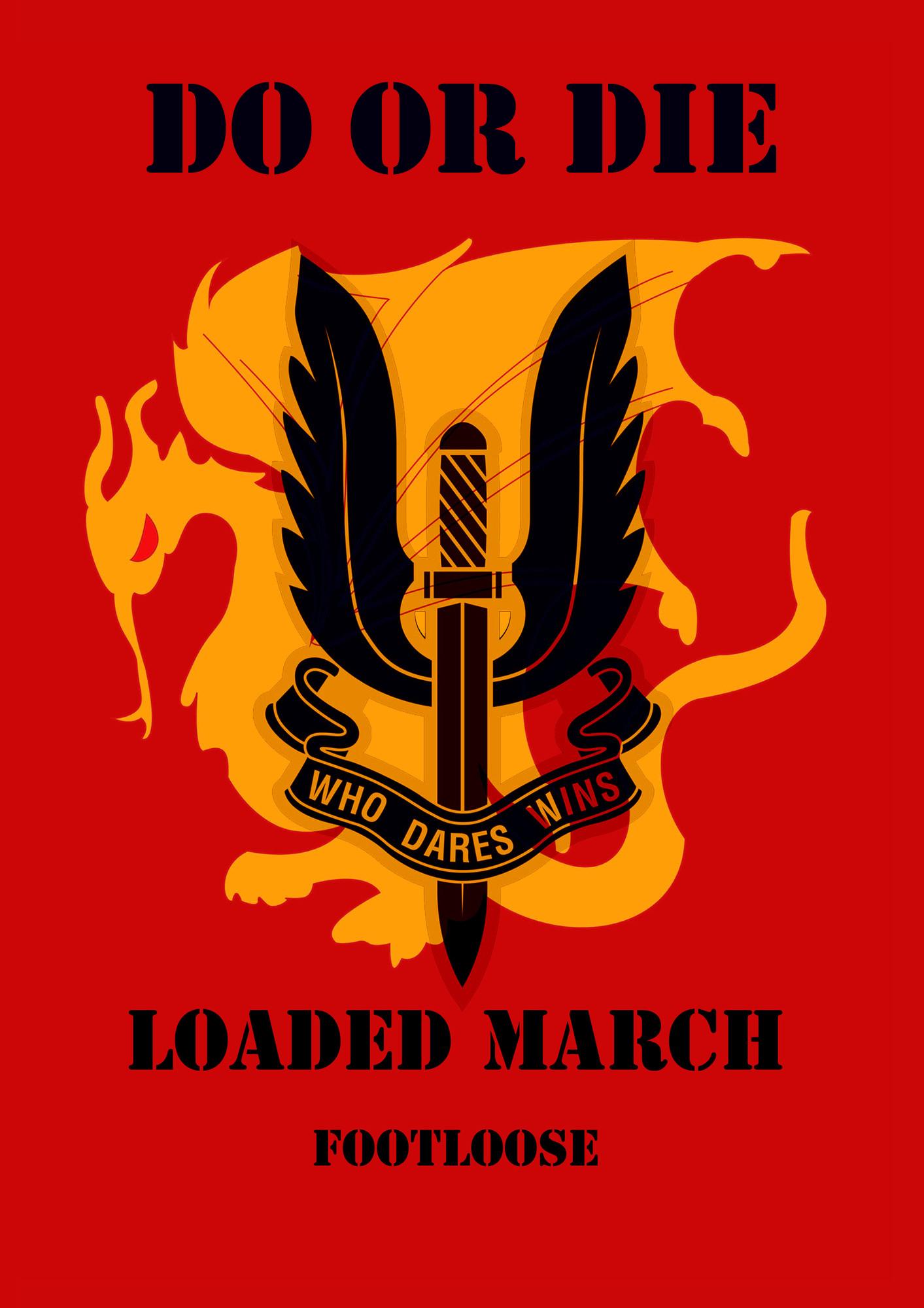 Do or Die (Loaded March, #15) Footloose