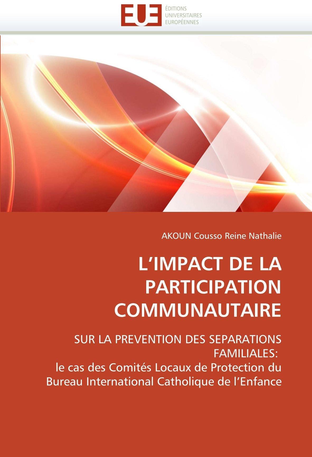 LImpact de La Participation Communautaire  by  Akoun Cousso Reine Nathalie