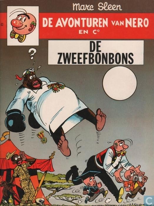 De Zweefbonbons (de avonturen van Nero en Co, #63) Marc Sleen