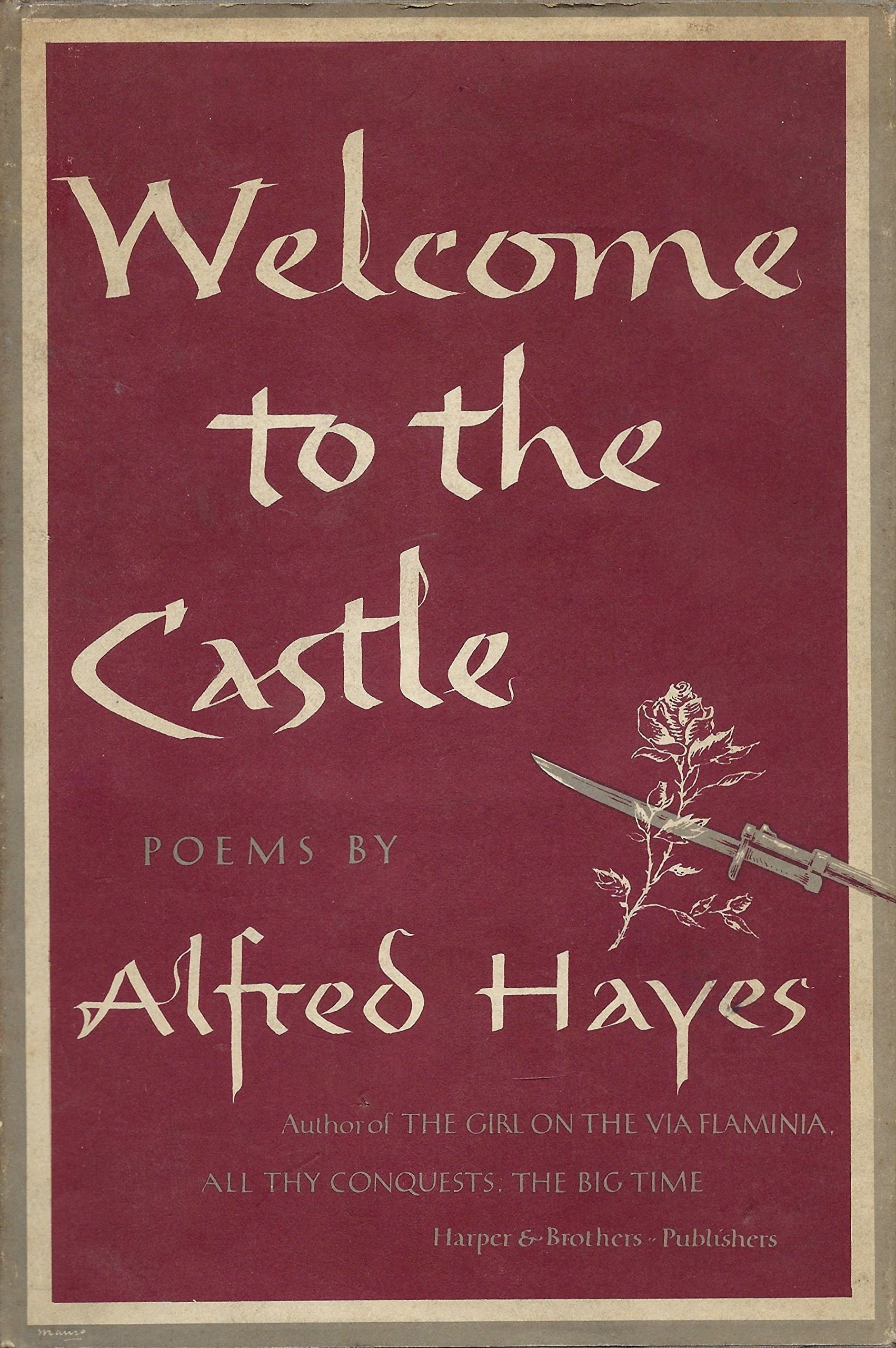 Welcome to the Castle  by  Alfred Hayes