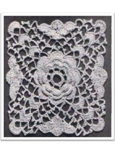 #1872 RAMBLING ROSE VINTAGE CROCHET PATTERN Princess of Patterns