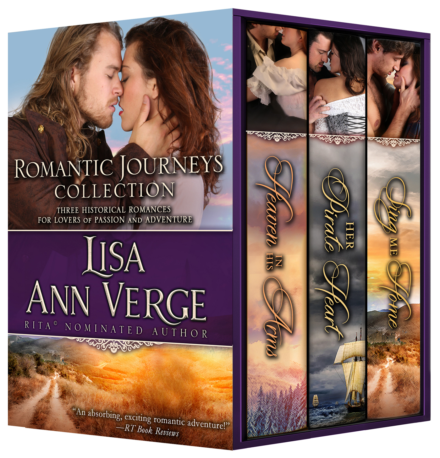 Romantic Journeys Collection: 3 Sweeping Historical Romances for Lovers of Passion and Adventure Lisa Ann Verge