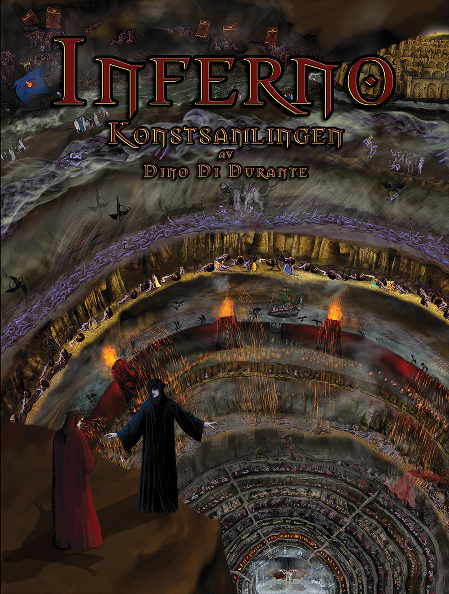 Inferno Konstsamlingen  by  Dino Di Durante