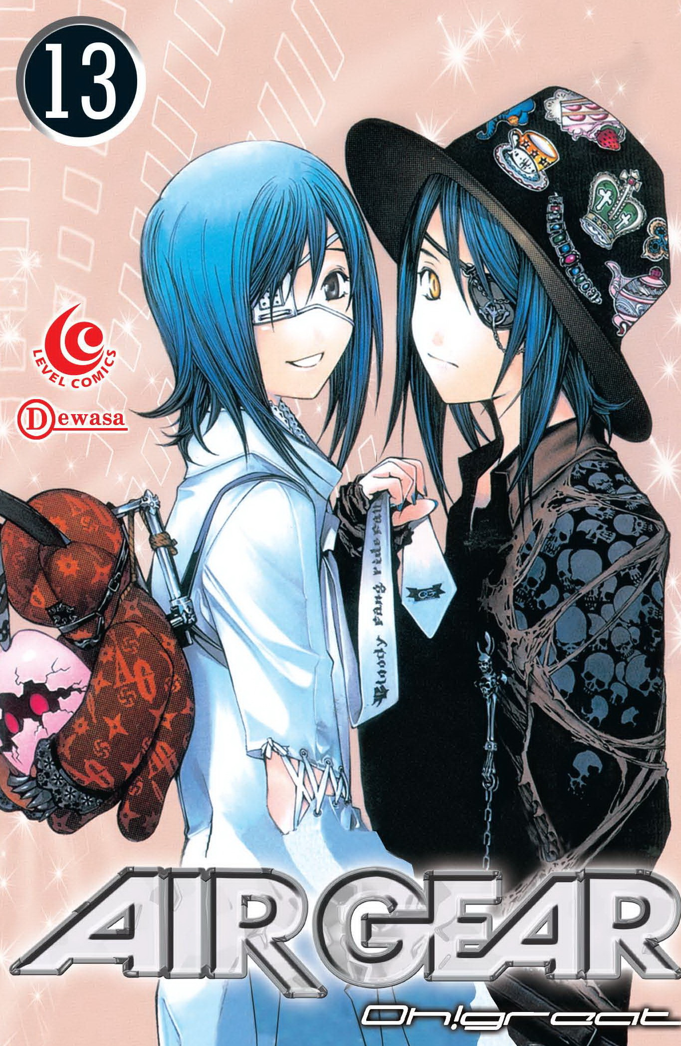 LC: Air Gear vol. 13 (terbit ulang) (LC: Air Gear, #13 (terbit ulang)) Oh!great