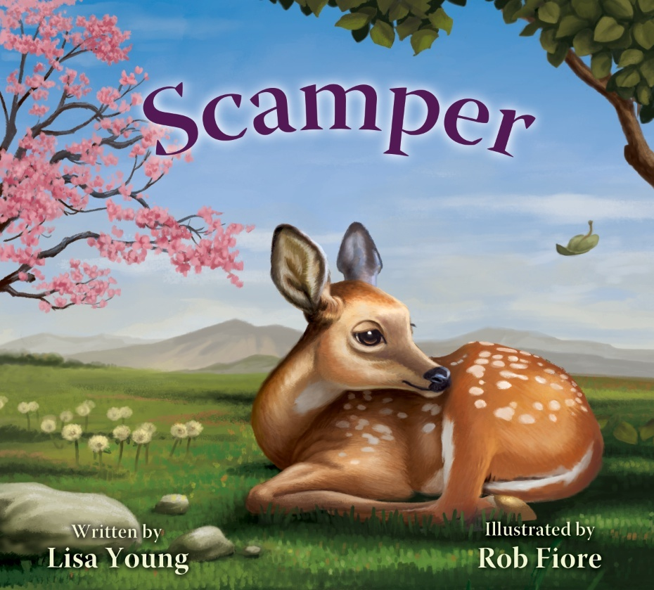 Scamper  by  Lisa D. Young