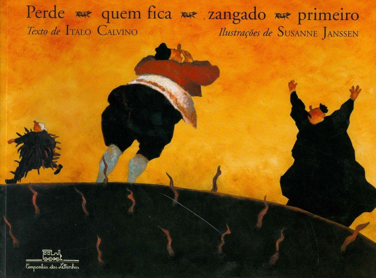 Perde quem fica zangado primeiro  by  Italo Calvino