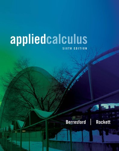 Applied Calculus (Textbooks Available with Cengage Youbook)  by  Geoffrey C. Berresford