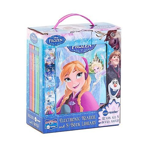 Disney Frozen Electronic Reader and 8 Book Library Veronica Wagner