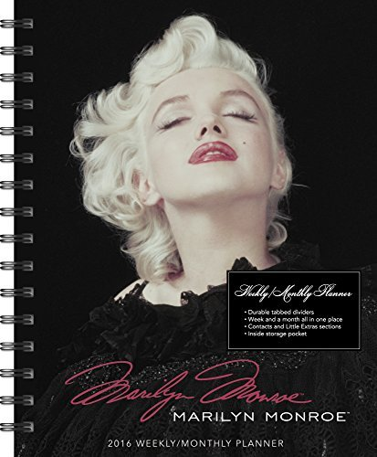 Marilyn Monroe Weekly and Monthly Planner (2016)  by  Day Dream