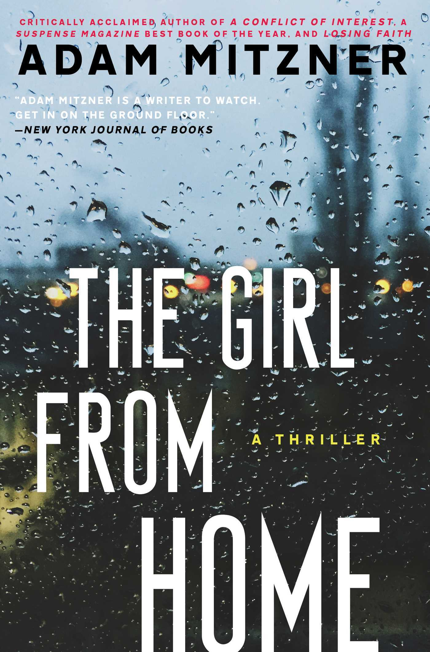 The Girl From Home: A Novel Adam Mitzner