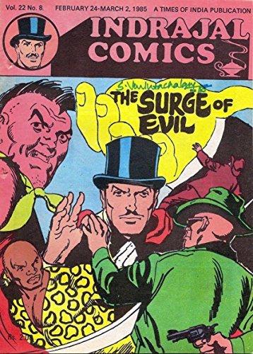 Indrajal Comics-556-Mandrake: The Surge Of Evil (V22N08-1985)  by  Lee Falk