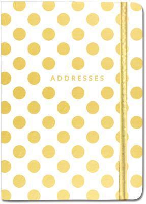 Gold Dots Address Book  by  Peter Pauper Press