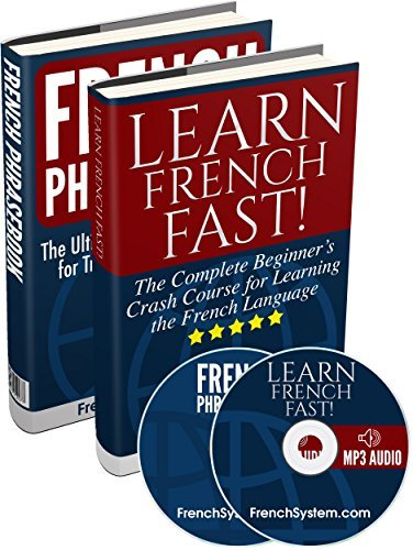 Learn French: French Books Box Set (Audio Included): Learn French FAST! + French Phrasebook  by  French System