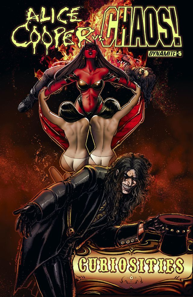 Alice Cooper vs. CHAOS! #5  by  Tim Seeley