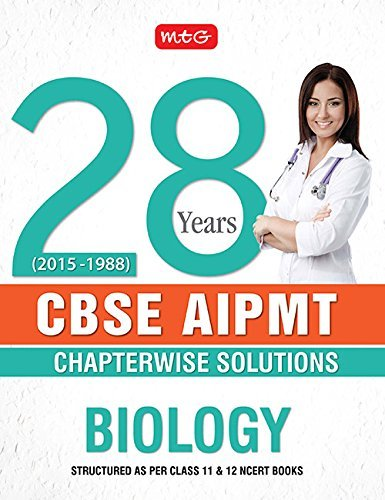 28 YEARS AIPMT Chapterwise Explorer - Biology N/A