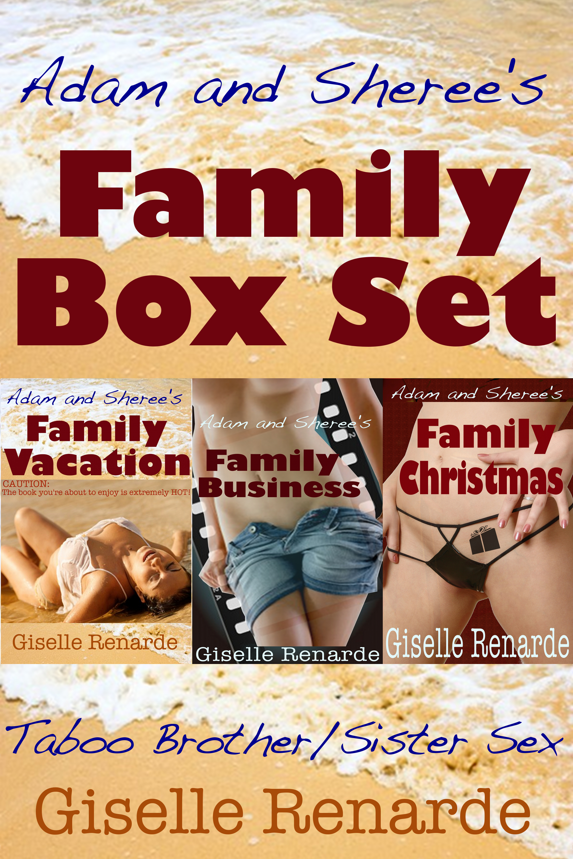 Adam and Sheree's Family Box Set  by  Giselle Renarde