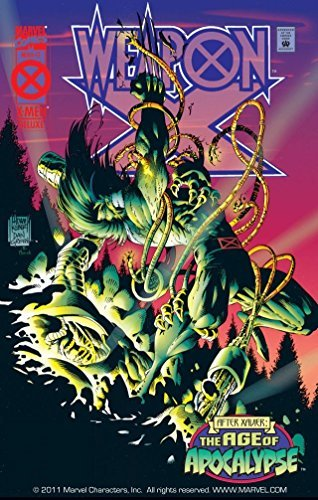 Weapon X #3  by  Larry Hama