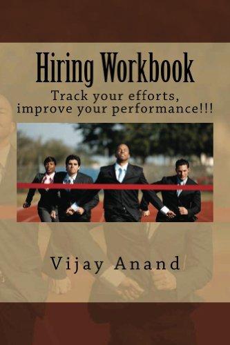 Hiring Workbook (Hiring Handbook 2) Vijay Anand