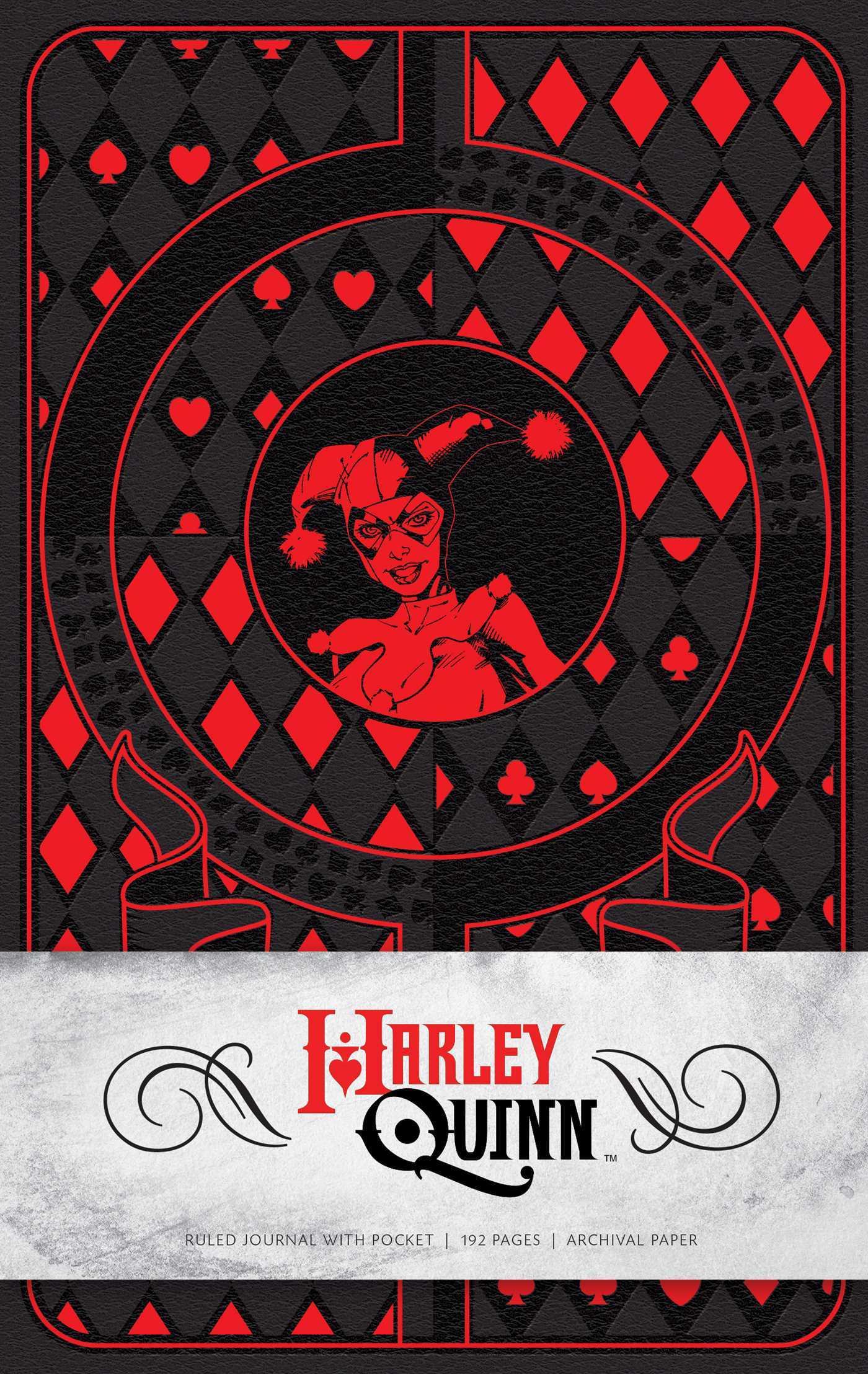 Harley Quinn Hardcover Ruled Journal Matthew K. Manning