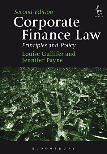 Corporate Finance Law,: Principles and Policy Louise Gullifer
