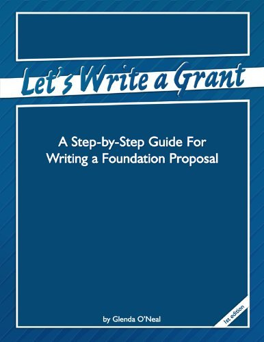 Lets Write a Grant Glenda ONeal