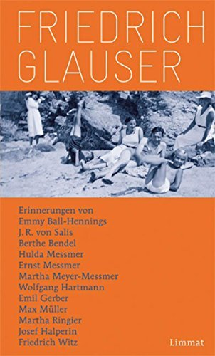 Friedrich Glauser: Erinnerungen  by  Max Müller