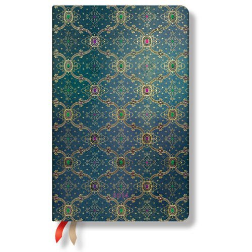 French Ornate Bleu 2014 Diary Maxi Unnamed
