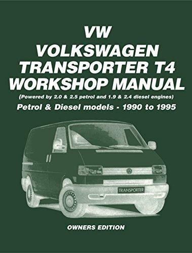 VW Transporter T4 Petrol-Diesel Owners Work Manual 90-95  by  Trade Manual