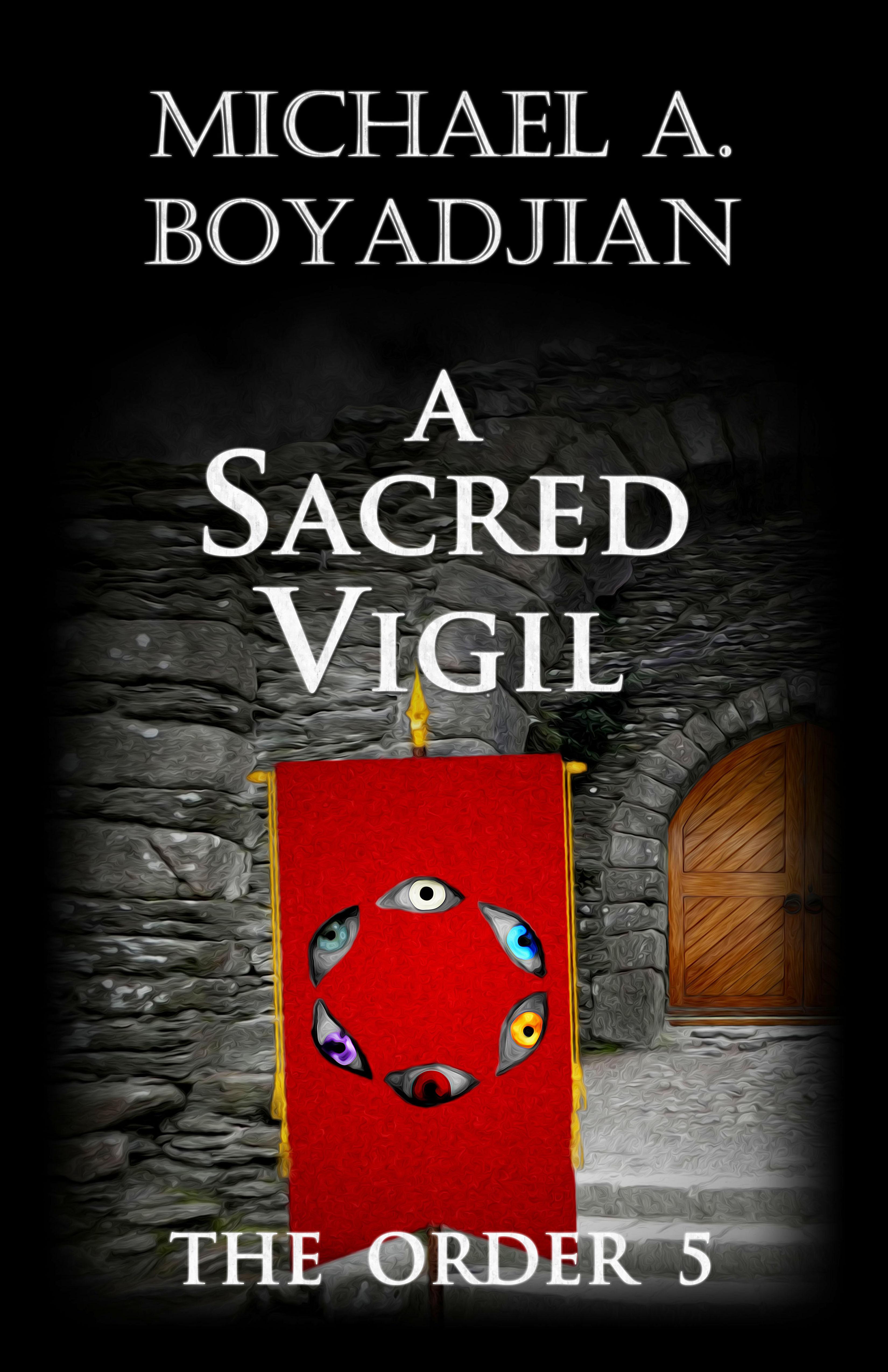 A Sacred Vigil  by  Michael A. Boyadjian
