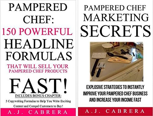 Pampered Chef Marketing Bundle #1 A.J. Cabrera