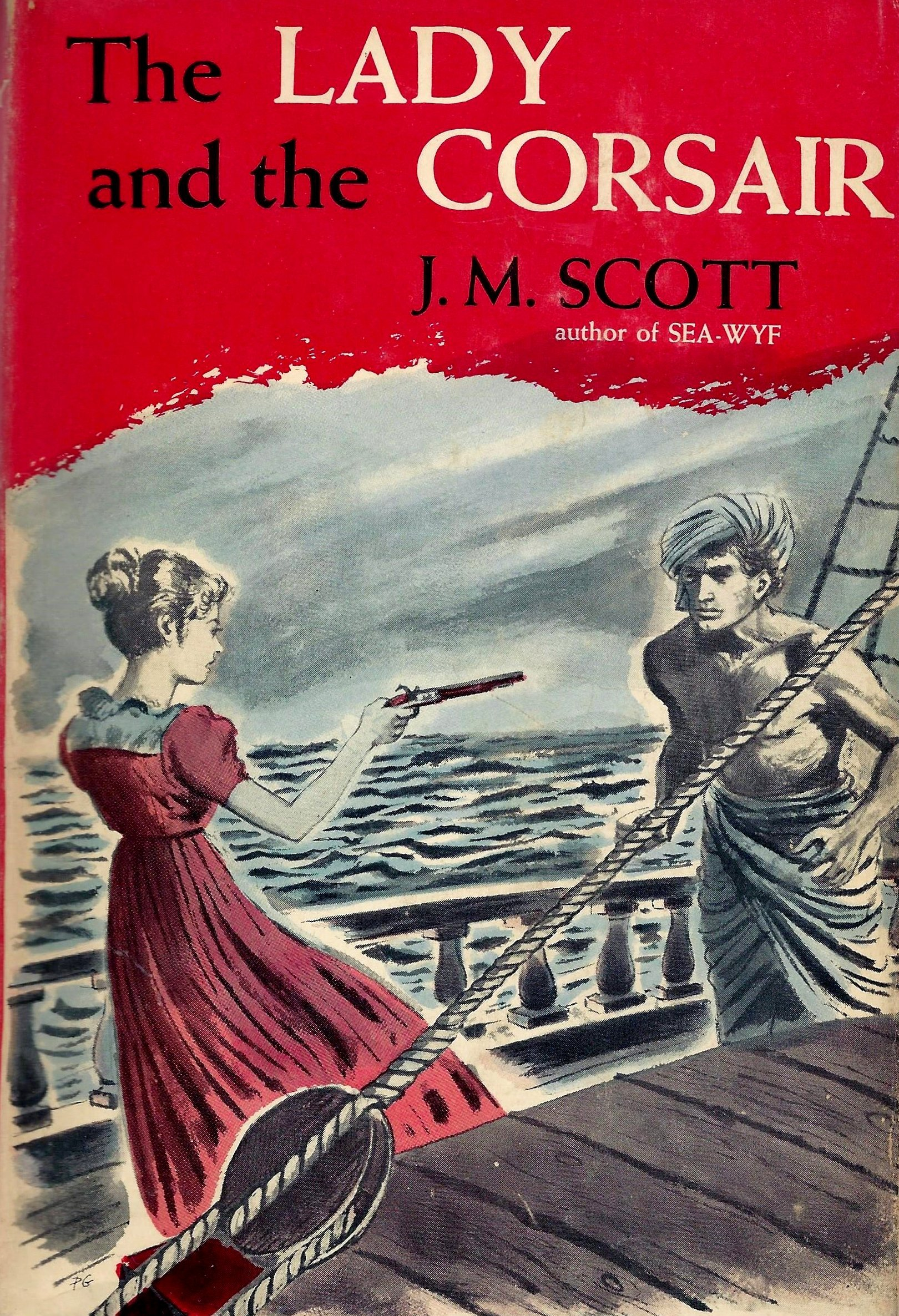 The Lady and the Corsair J.M. Scott