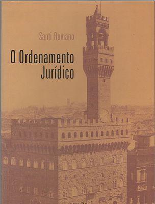 O Ordenamento Jurídico Santi Romano