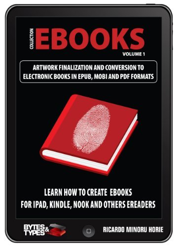 eBooks Collection - Artwork finalization and conversion to electronic books in ePub, Mobi and PDF Ricardo Minoru Horie