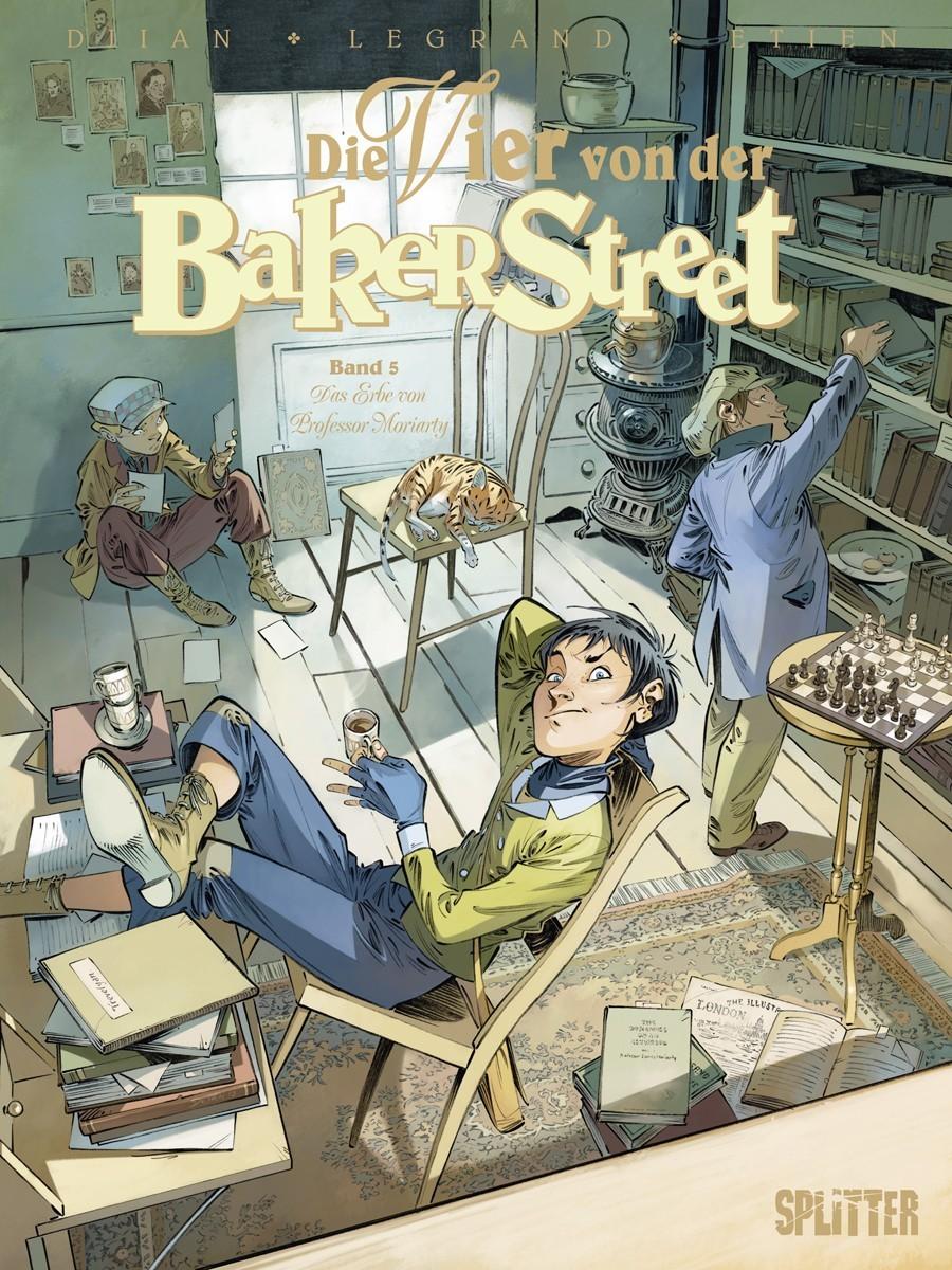 Die Vier von der Baker Street Bd. 5: Das Erbe von Professor Moriarty  by  Olivier Legrand