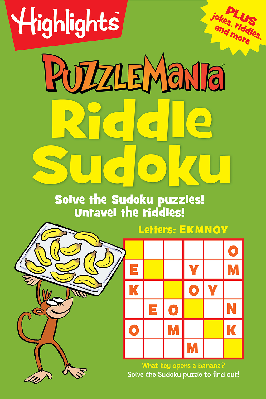 Riddle Sudoku  by  Highlights ,