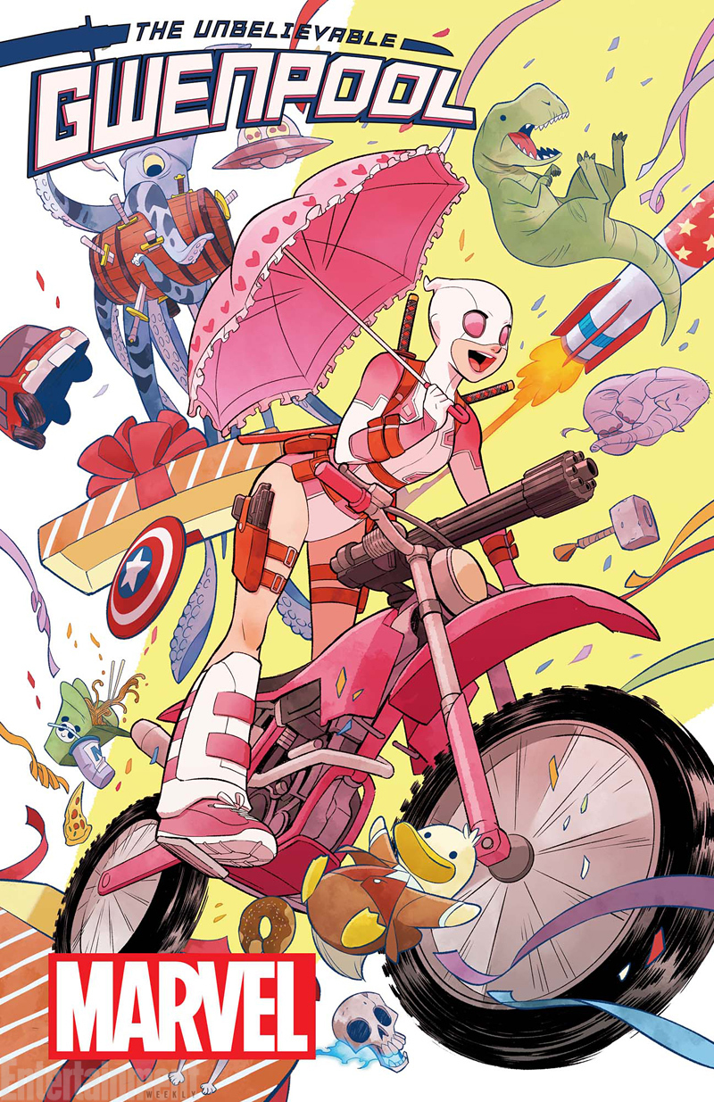The Unbelievable Gwenpool #1 Christopher Hastings