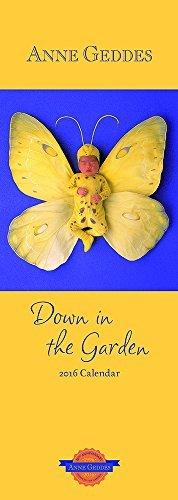 Anne Geddes Down in the Garden 2016 Slim  by  Andrews McMeel Publishing Ltd