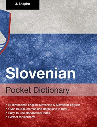 Slovenian Pocket Dictionary  by  John Shapiro