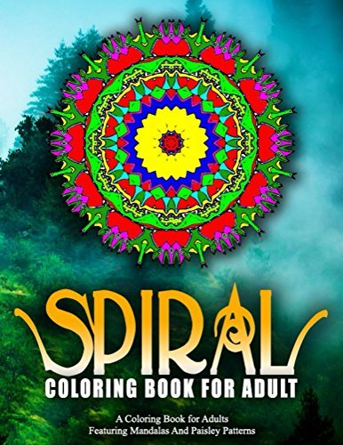 SPIRAL COLORING BOOKS FOR ADULTS - Vol.16: colorama coloring book coloring books for adults colorama coloring book coloring books for adults